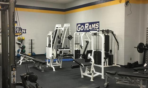 Weight room on the move