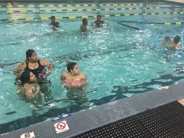 RAs host pool party for dorm residents