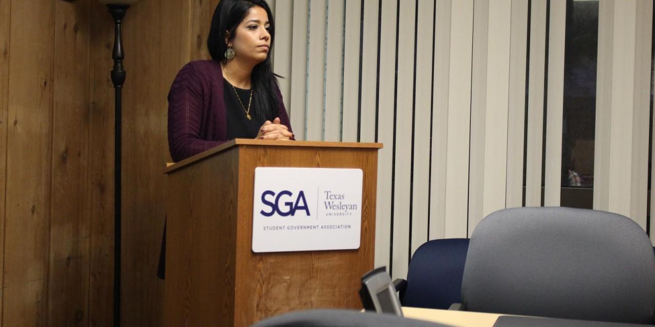 Saheb returns to her post as SGA president