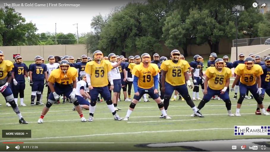 Wesleyan's football team returns to the field