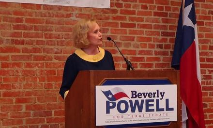 Volkman Powell kicks off her campaign