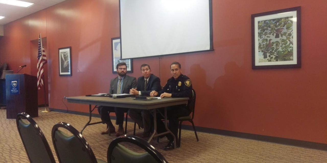 Security issues addressed at open forum