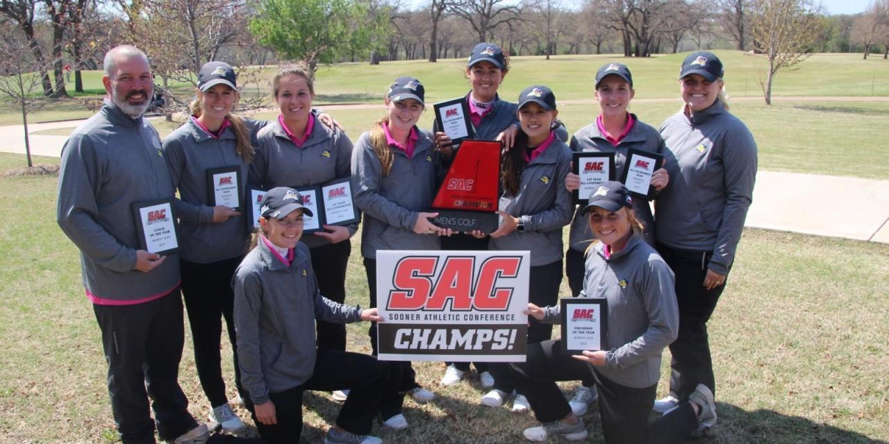 Lady Rams win first SAC title
