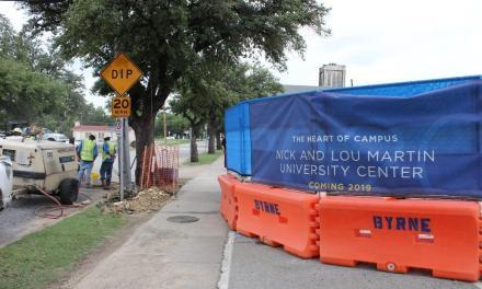 Martin Center construction progresses