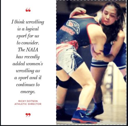 Wesleyan may add women's wrestling