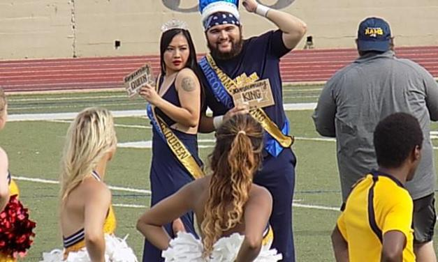 Lanham and Le crowned Homecoming king and queen