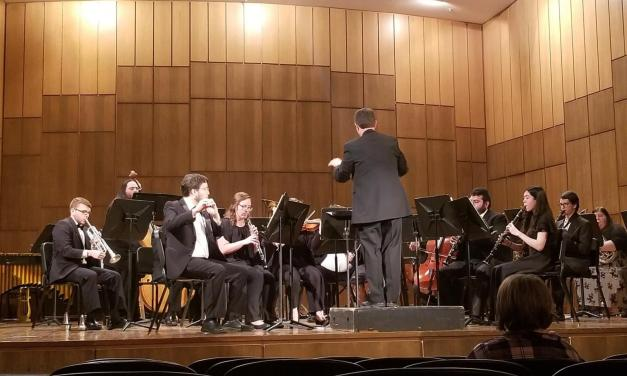 Wind Ensemble performs at Martin Hall