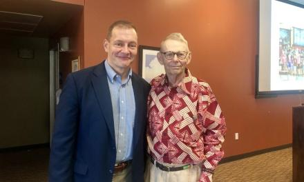 Cook speaks at Willson Lectureship at Lou's Place