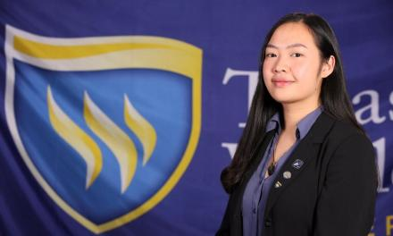 Le fulfills her dream of studying abroad