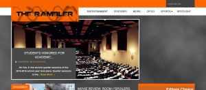 Screenshot of TheRamblerNews.com on March 24, 2016
