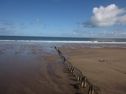 The beach at Sandsend