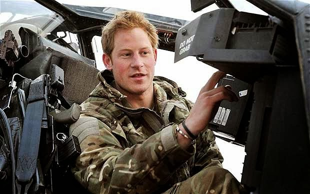 "Prince Harry defends young gay soldier in new book ""Out in"