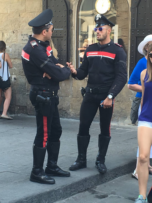 Sexy cops in Itally - The Carabinieri is the national gendarmerie of Italy, policing both military and civilian populations. It originally was founded as the police force of the Kingdom of Sardinia.
