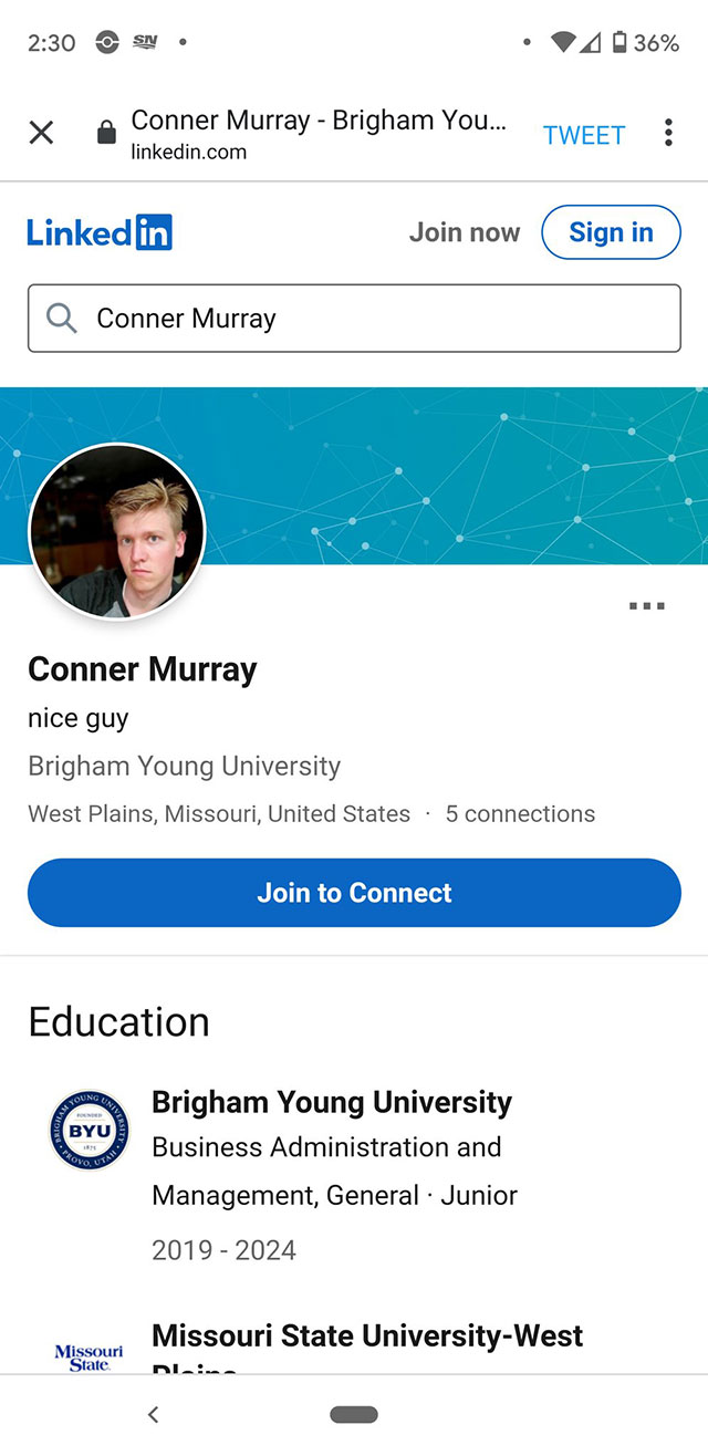 BYU student Conner Murray reportedly defaced messages of support for LGBTQ students