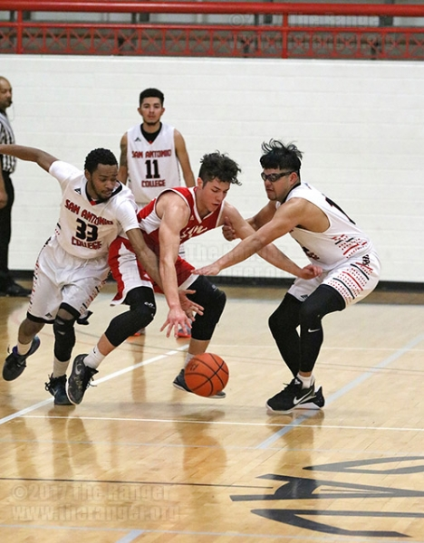 Rangers cage Cardinals in first game of semester