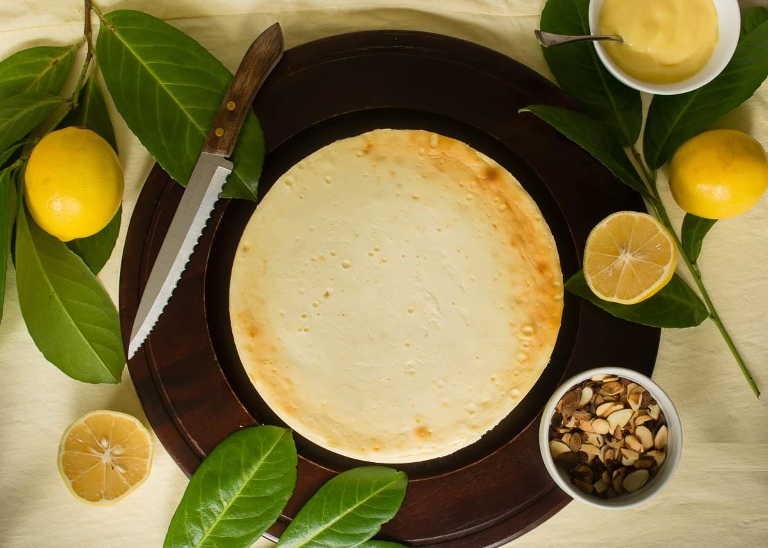 Ricotta Cheesecake with Meyer Lemon Curd   The Ranger's ...