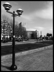 The Lampost & The Rest (Black & White)