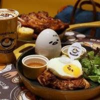 Food Review: Gudetama Cafe Singapore at Suntec City | Popular Sanrio's Lazy Egg character cafe opens