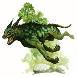 Elven Hound from D&D