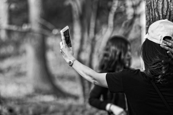 Selfie -Narzissmus