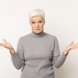 Älter werden oder die Unsichtbarkeit der älteren Frau.