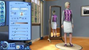 Création d'un sim's ou avatar