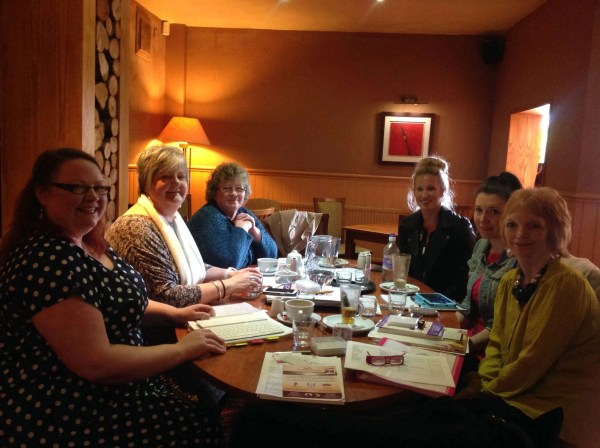 A picture of people at the free networking meetings - Therapists Network Meetings