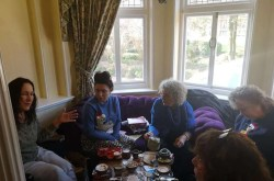 The Therapists Network Meeting in Burlington Hotel, Hythe