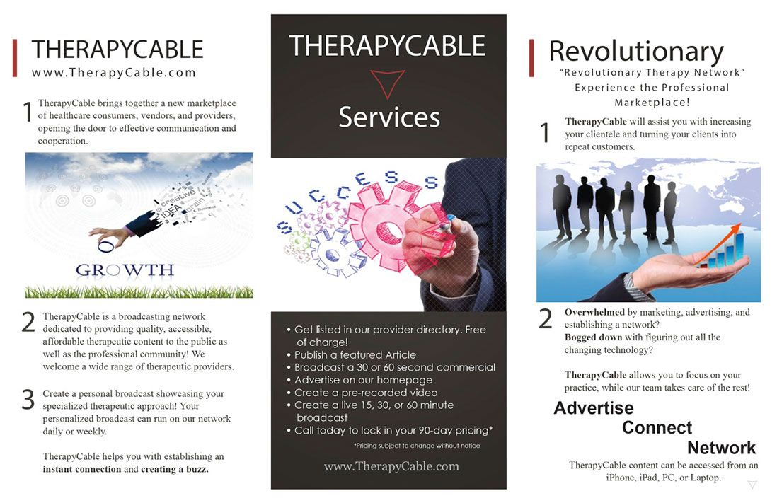 therapyCableBrochure
