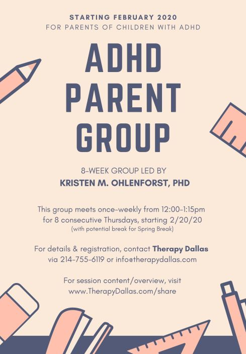 ADHD Parent Group 2020