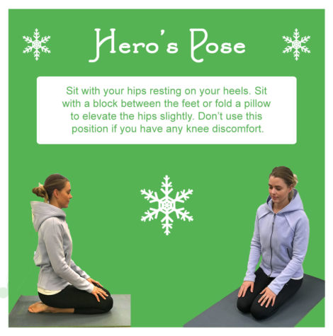 hero's pose meditation portland