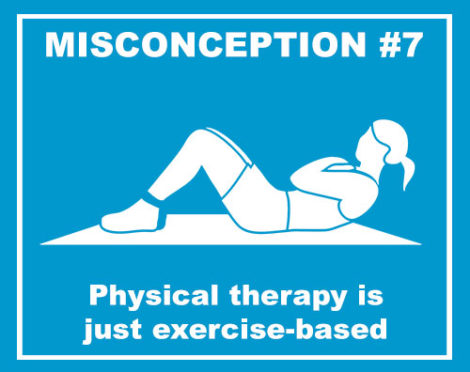 physical therapy is just exercise based