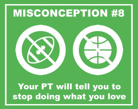 misconceptions PTs will tell you to stop