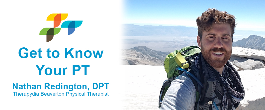 Beaverton Oregon Physical Therapy Nathan Redington
