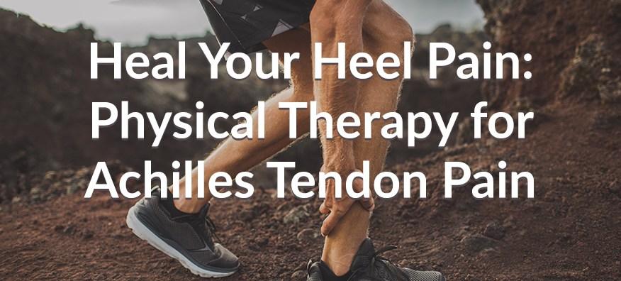 achilles tendon pain
