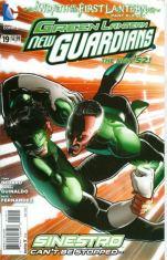 Green Lantern New Guardians #19 Regular Aaron Kuder