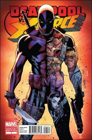Deadpool vs. X-Force #1 1:25 Scott Campbell RI Variant