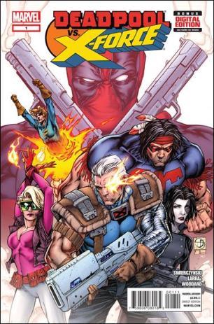 Deadpool vs. X-Force #1 Regular