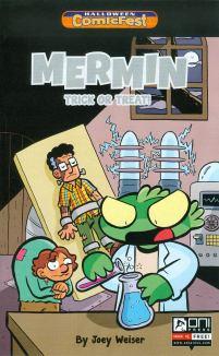 HCF 2014 Mermin Trick Or Treat Mini-Comic