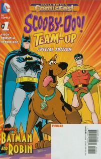 HCF 2014 Scooby-Doo Team-Up #1 Featuring Batman