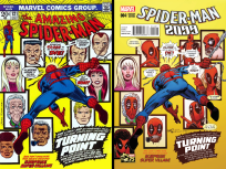 Spider-Man 2099 Vol 2 #4 Incentive Greg Land Deadpool 75th Anniversary Photobomb Variant