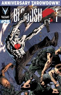 Bloodshot Vol 3 #25 Cover E Incentive Bryan Hitch Variant