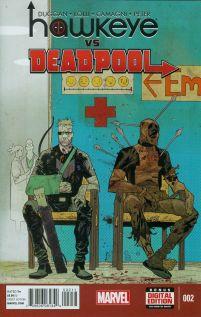 Hawkeye vs Deadpool #2 Matteo Lolli