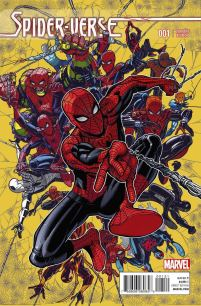 Spider-Verse #1 Cover C Incentive Nick Bradshaw Variant