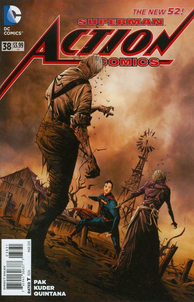 Action Comics Vol 2 #38 Cover C Incentive Jae Lee Variant