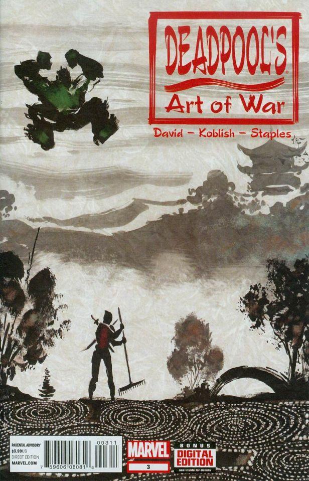 Deadpools Art Of War #3 Scott Koblish