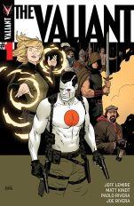 The Valiant #1 Cover A Regular Paolo Rivera