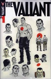The Valiant #1 Midtown Comics Shared Variant