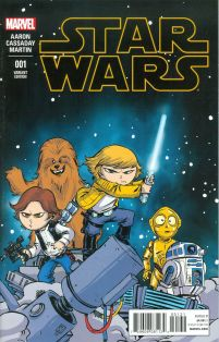 Star Wars Vol 4 #1 Cover H Variant Connecting Skottie Young Baby