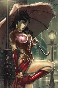 Legenderry Vampirella #1 Cover F Rare Cedric Poulat Virgin